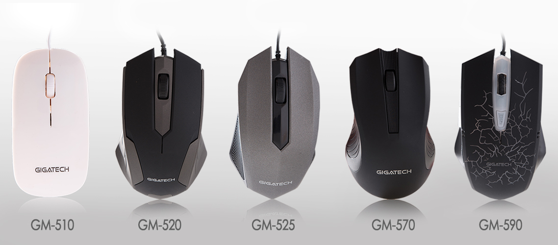 New serie of Gigatech computer mouses is available in the market!